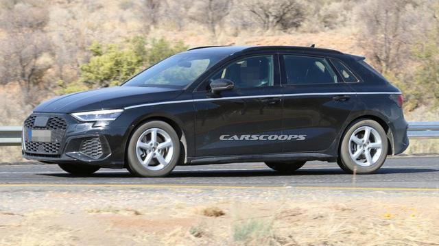 Audi A3 chạy thử không ngụy trang, dân tình chê tơi bời vì nhàm chán