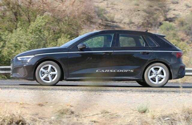 Audi A3 chạy thử không ngụy trang, dân tình chê tơi bời vì nhàm chán - Ảnh 3.