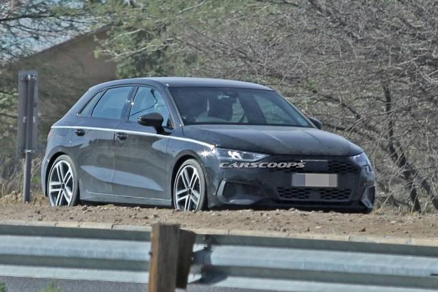 Audi A3 chạy thử không ngụy trang, dân tình chê tơi bời vì nhàm chán - Ảnh 1.