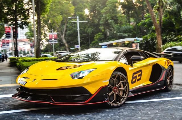 Cận cảnh Lamborghini Aventador SVJ 63 đầu tiên tại Đông Nam Á - Ảnh 2.