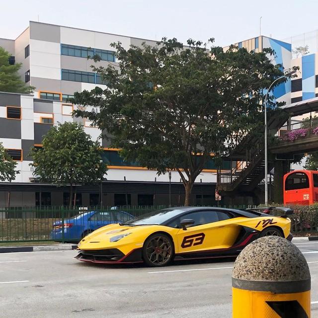 Cận cảnh Lamborghini Aventador SVJ 63 đầu tiên tại Đông Nam Á - Ảnh 5.