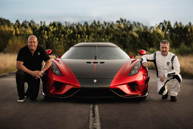 Koenigsegg tuyên bố lập kỉ lục mới, hăm doạ ông hoàng tốc độ của Bugatti - Ảnh 1.