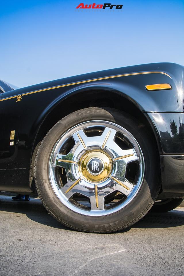 Rolls-Royce Phantom độ phiên bản rồng, mạ vàng có giá bao nhiêu trên sàn xe lướt? - Ảnh 8.