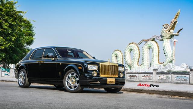 Rolls-Royce Phantom độ phiên bản rồng, mạ vàng có giá bao nhiêu trên sàn xe lướt? - Ảnh 3.
