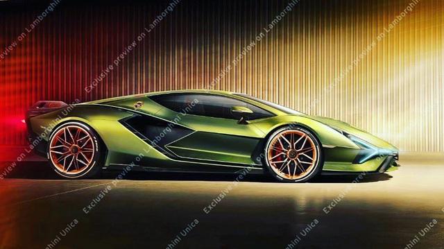 Đây là siêu phẩm sắp ra mắt của Lamborghini: Tên gọi Sian, khung gầm Aventador nhưng hầm hố hơn hẳn