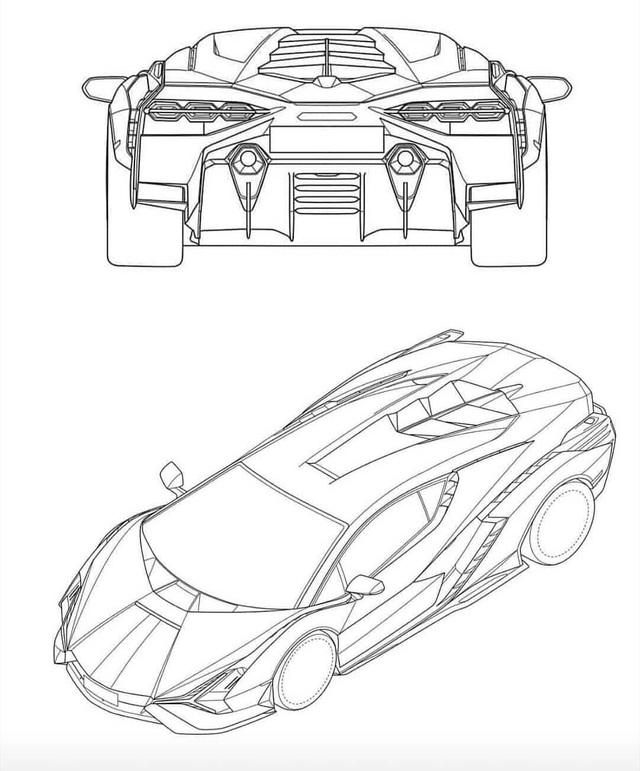Đây là siêu phẩm sắp ra mắt của Lamborghini: Tên gọi Sian, khung gầm Aventador nhưng hầm hố hơn hẳn - Ảnh 1.