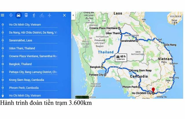 Tiết lộ hành trình 3.600km và 60 giờ lái xe tiền trạm ASEAN Rally 2020 - Ảnh 1.