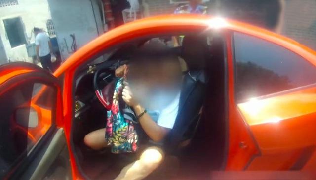 Lái Lamborghini fake chưa đến 50 triệu ra đường, người phụ nữ bị công an tạm giữ, thu xe - Ảnh 3.