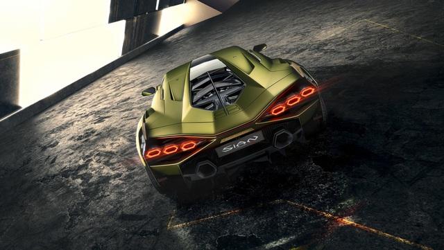 Ra mắt siêu phẩm Lamborghini Sián mạnh 808 mã lực, tốc độ tối đa 350 km/h - Ảnh 10.
