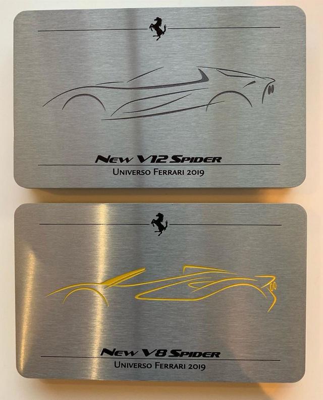 Ferrari 812 Superfast, F8 Tributo sắp có bản mui trần - Ảnh 1.