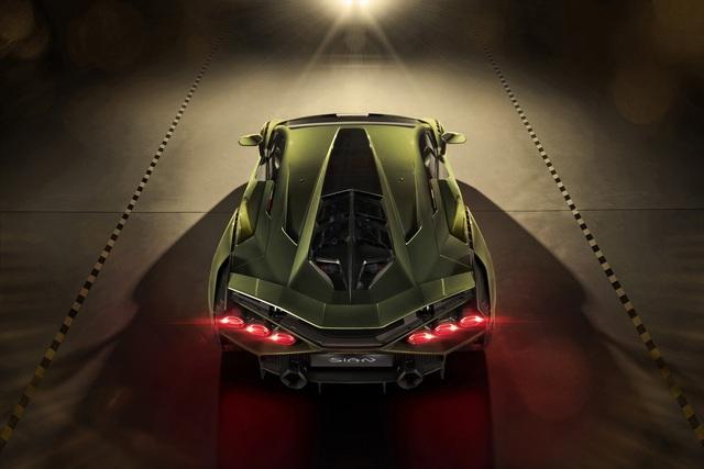 Ra mắt siêu phẩm Lamborghini Sián mạnh 808 mã lực, tốc độ tối đa 350 km/h - Ảnh 6.