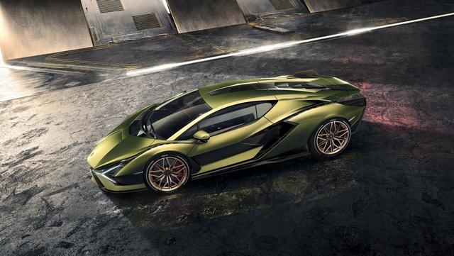 Ra mắt siêu phẩm Lamborghini Sián mạnh 808 mã lực, tốc độ tối đa 350 km/h - Ảnh 7.