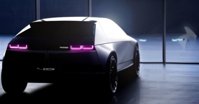 Hyundai nhá hàng Concept 45 - Cột mốc biểu tượng cho thiết kế xe điện Hyundai trong tương lai - Ảnh 2.