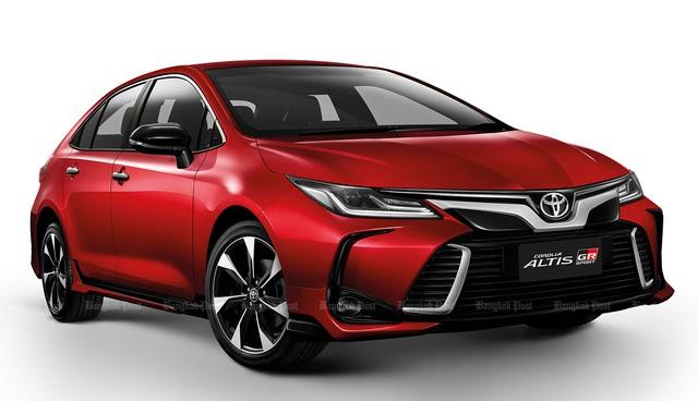 Ra mắt Toyota Corolla Altis thế hệ mới, chực chờ về Việt Nam đòi lại ngôi vương - Ảnh 3.