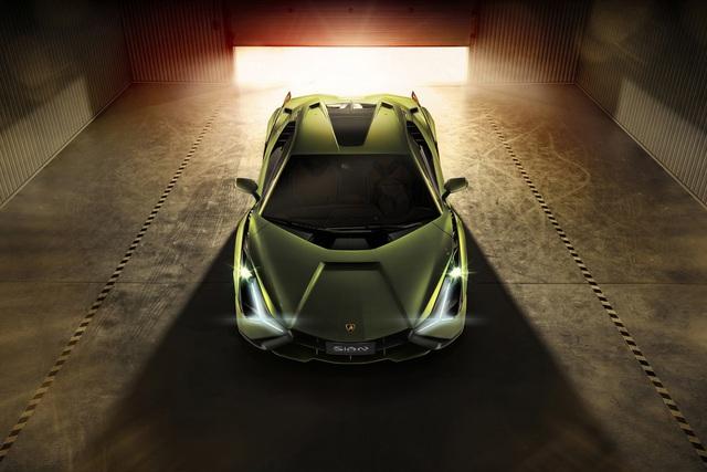 Ra mắt siêu phẩm Lamborghini Sián mạnh 808 mã lực, tốc độ tối đa 350 km/h - Ảnh 5.