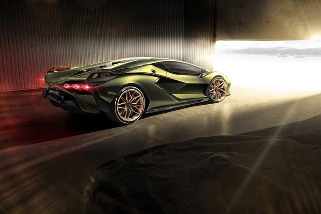Ra mắt siêu phẩm Lamborghini Sián mạnh 808 mã lực, tốc độ tối đa 350 km/h - Ảnh 8.