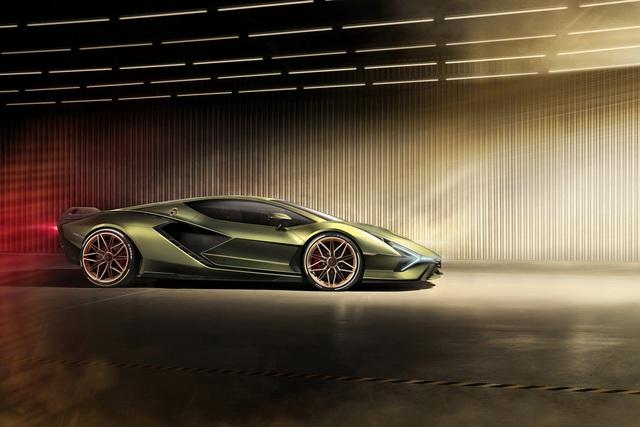 Ra mắt siêu phẩm Lamborghini Sián mạnh 808 mã lực, tốc độ tối đa 350 km/h - Ảnh 3.