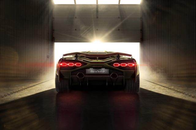 Ra mắt siêu phẩm Lamborghini Sián mạnh 808 mã lực, tốc độ tối đa 350 km/h - Ảnh 9.