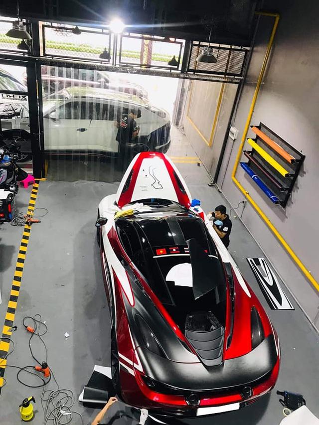 McLaren 720S của trưởng đoàn Car Passion hoàn tất decal mới, sẵn sàng chạy tiền trạm ASEAN Rally 2020 - Ảnh 1.