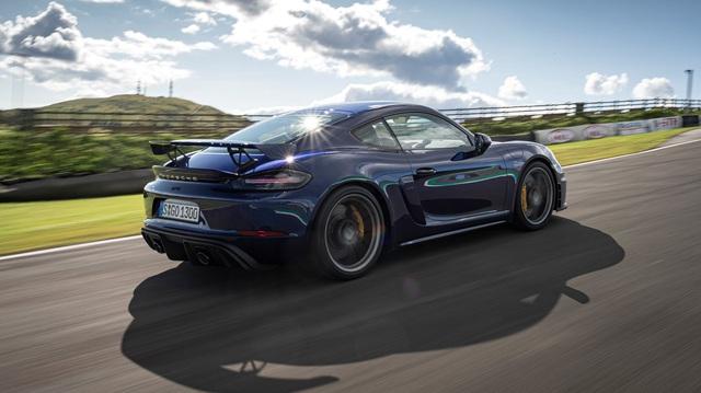 Tiếp đà Taycan, Porsche ra mắt Boxster và Cayman thuần điện trong 12 tháng tới