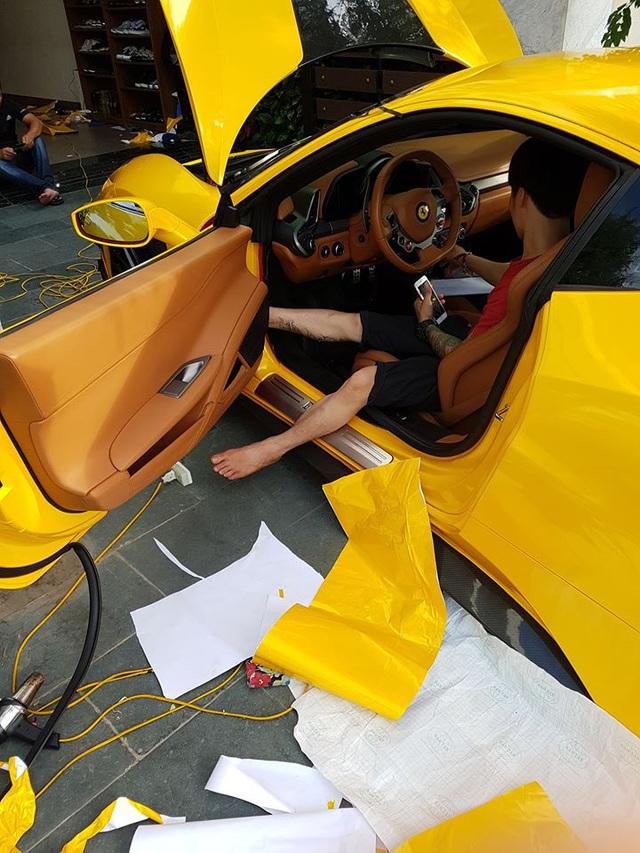 Ferrari 458 độ Misha Design độc nhất Việt Nam từng của Phan Thành lần đầu lột xác trong diện mạo mới - Ảnh 2.