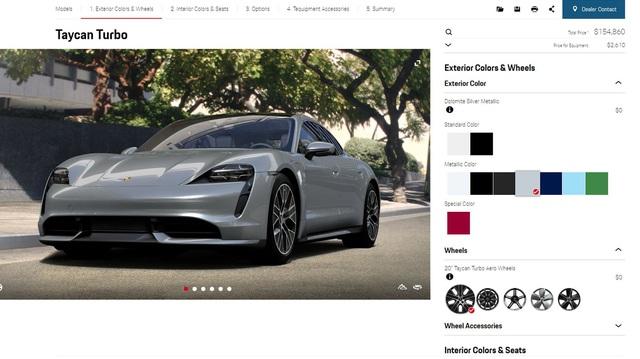 Porsche Taycan sắp về Việt Nam có thể tùy biến 'khủng' ra sao?