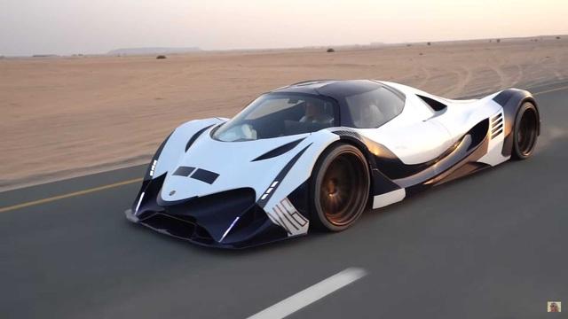 Bugatti vừa phá kỷ lục thế giới, Devel Sixteen 5.000 mã lực liền trở lại đầy ẩn ý - Ảnh 1.