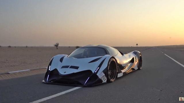 Bugatti vừa phá kỷ lục thế giới, Devel Sixteen 5.000 mã lực liền trở lại đầy ẩn ý