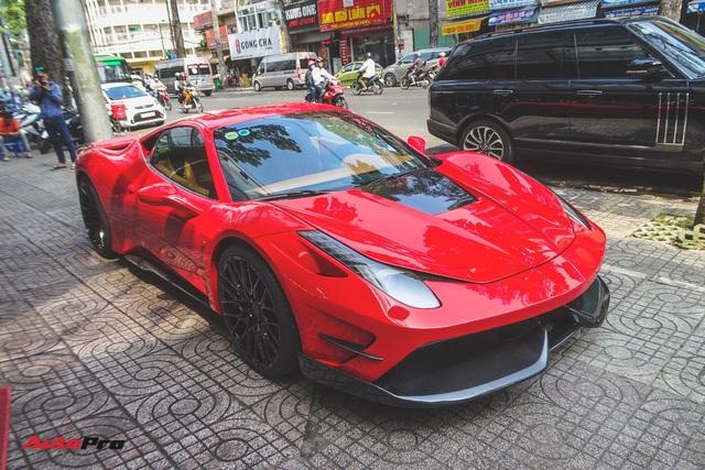 Ferrari 458 độ Misha Design độc nhất Việt Nam từng của Phan Thành lần đầu lột xác trong diện mạo mới - Ảnh 1.