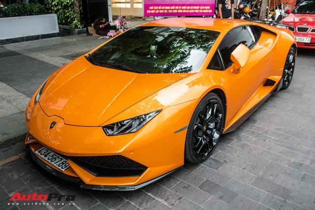 Cận cảnh chiếc Lamborghini Huracan màu vàng neon hàng độc tại Việt Nam - Ảnh 6.