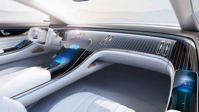 Mercedes S-Class của xe điện tung trailer cuối cùng sát giờ ra mắt - Ảnh 1.