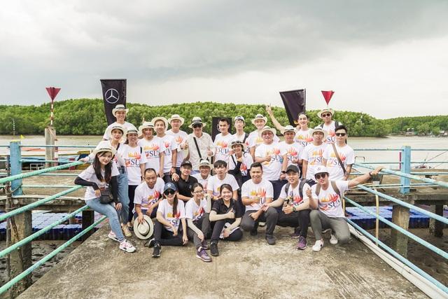 Hành trình Mercedes-Benz SUVenture 2019: Khám phá vẻ đẹp Sài Gòn bằng SUV - Ảnh 4.
