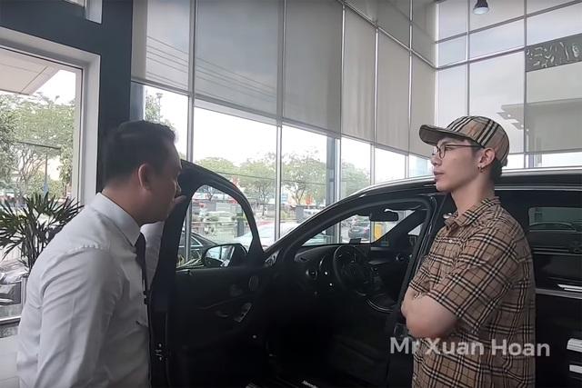 Sau khi mượn Range Rover Evoque của Đức Phúc, Erik chốt mua... Mercedes-Benz GLC 300 - Ảnh 1.