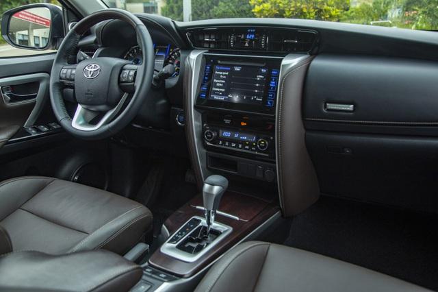 Toyota Fortuner bản thể thao TRD chốt giá gần 1,2 tỷ đồng - Ảnh 4.