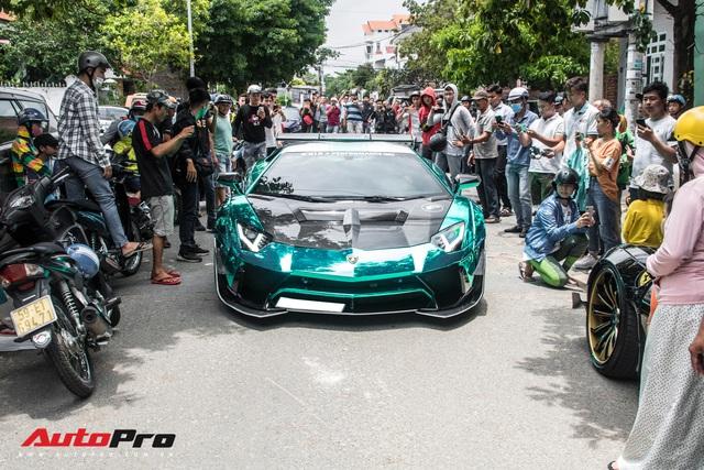 Hàng chục siêu xe và xe thể thao độ của đại gia Sài Gòn đổ bộ Bình Dương thu hút sự chú ý của người dân - Ảnh 20.