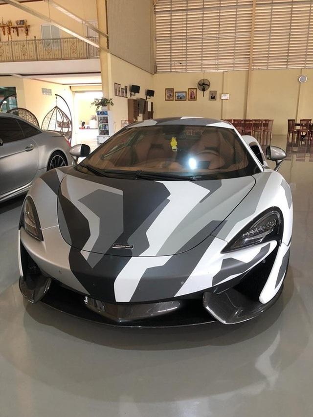 McLaren 570S camo hàng độc về Việt Nam với xuất xứ đặc biệt - Ảnh 3.