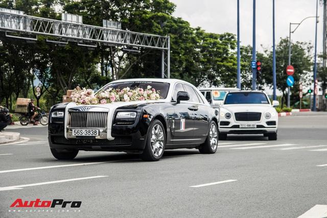 Dàn xe 100 tỷ nhà Minh Nhựa đi diễu hành tại Sài Gòn trong ngày đám cưới cô con gái sinh năm 1999 - Ảnh 5.