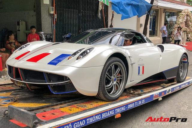 Đại gia Minh Nhựa trưng bày siêu xe Pagani Huayra đắt nhất Việt Nam tại tiệc cưới của cô con gái đầu lòng - Ảnh 2.