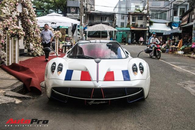 Đại gia Minh Nhựa trưng bày siêu xe Pagani Huayra đắt nhất Việt Nam tại tiệc cưới của cô con gái đầu lòng - Ảnh 5.