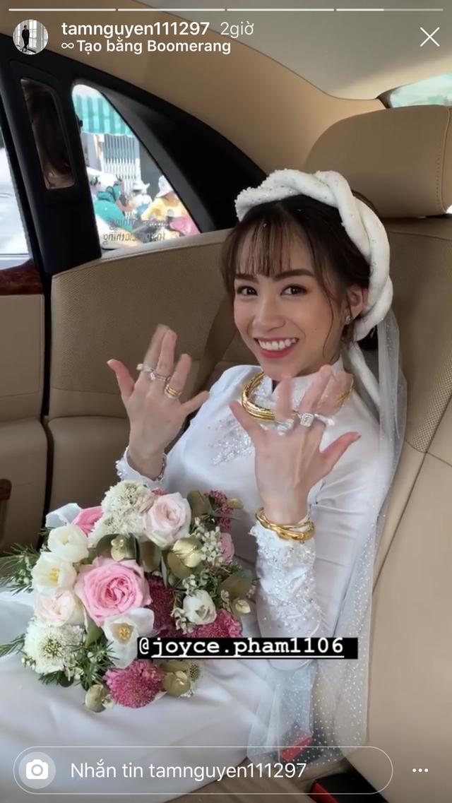 Đại gia Minh Nhựa thể hiện đẳng cấp trong đám cưới con gái: 15 siêu xe gần 100 tỷ hộ tống, ái nữ đeo sính lễ vàng và kim cương mỏi tay - Ảnh 1.