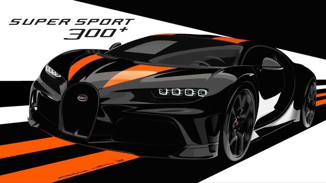 Siêu xe Bugatti có tốc độ khủng khiếp gần 500 km/h là Chiron Super Sport 300+ - Ảnh 1.