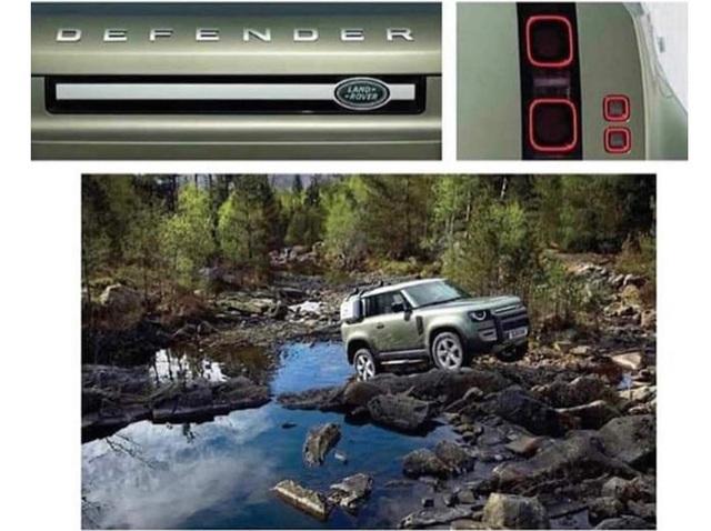 Land Rover Defender thế hệ mới lộ hàng sớm với 2 cấu hình dành cho fan địa hình - Ảnh 1.