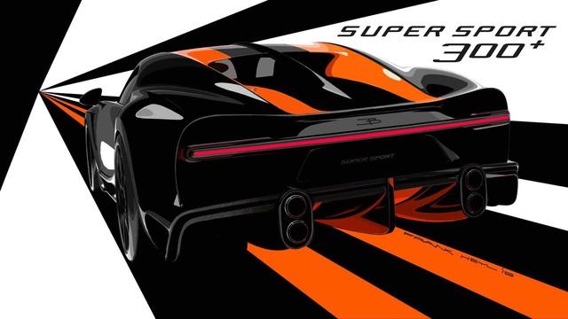 Siêu xe Bugatti có tốc độ khủng khiếp gần 500 km/h là Chiron Super Sport 300+ - Ảnh 4.