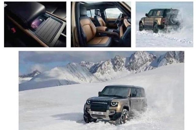 Land Rover Defender thế hệ mới lộ hàng sớm với 2 cấu hình dành cho fan địa hình - Ảnh 5.