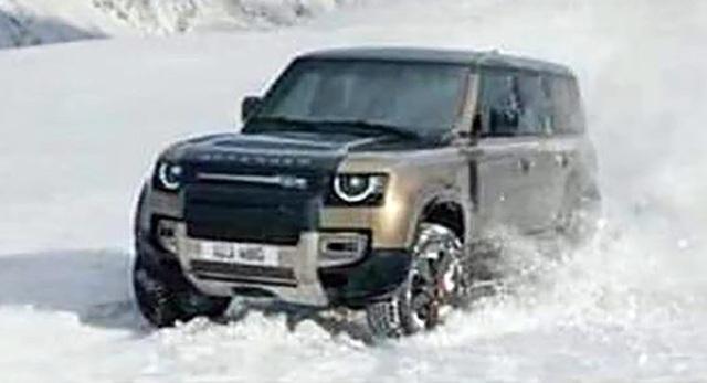 Land Rover Defender thế hệ mới lộ hàng sớm với 2 cấu hình dành cho fan địa hình - Ảnh 4.
