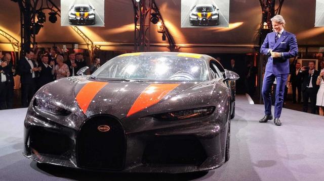 Siêu xe Bugatti có tốc độ khủng khiếp gần 500 km/h là Chiron Super Sport 300+