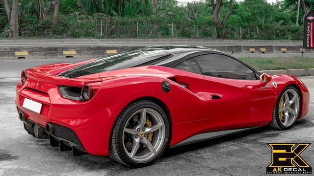 Ferrari 488 GTB từng của Cường Đô-la xuất hiện với diện mạo dễ gây hiểu nhầm - Ảnh 4.