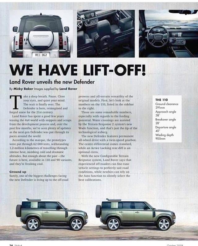 Land Rover Defender thế hệ mới lộ hàng sớm với 2 cấu hình dành cho fan địa hình - Ảnh 3.