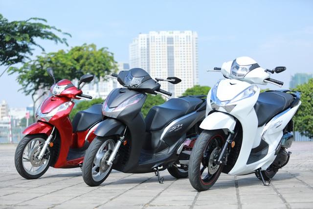 Xưởng độ ở Sài Gòn biến hóa Honda SH125i/150i thành SH300i với chi phí 12 triệu đồng - Ảnh 1.