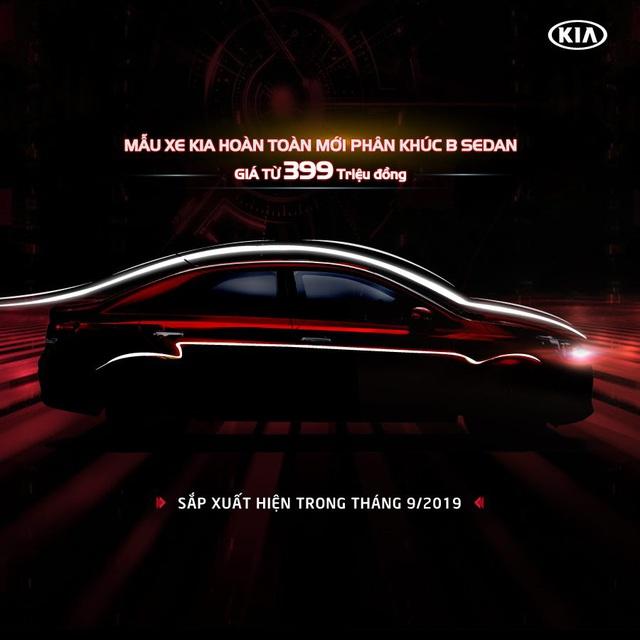 Kia Soluto lộ giá bán chưa đến 400 triệu đồng - xe hạng B giá ngang VinFast Fadil - Ảnh 1.